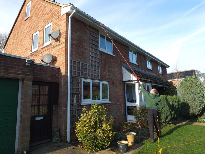 eclipse exterior cleaning services gutters fascias soffits